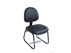 Cadeira fixa executiva aço mola Arco