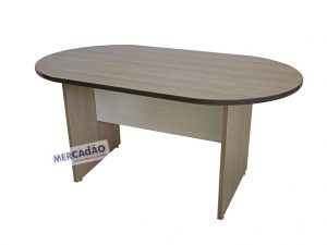 Mesa reunião oval Style