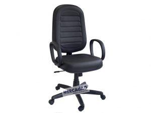 Cadeira giratória Presidente gomada