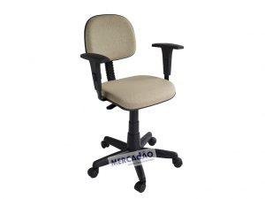Cadeira secretaria giratoria tecido