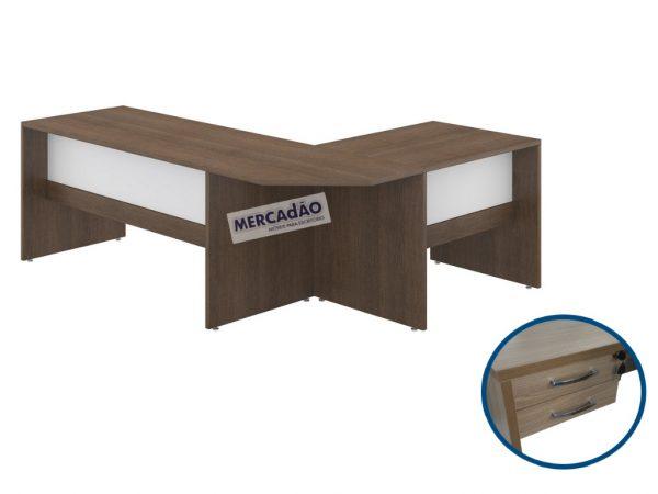 Conjunto de mesa com negativo Style
