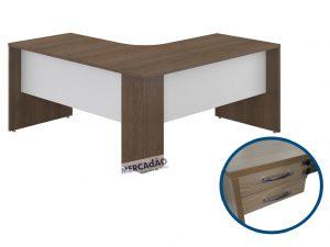 Mesa estacao Style 2 Gavetas