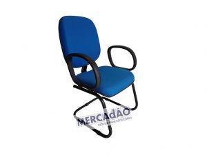 Cadeira diretor pés em S corsa