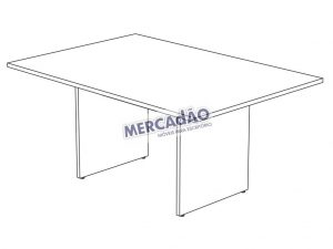 Concept Reuniao Retangular 25650