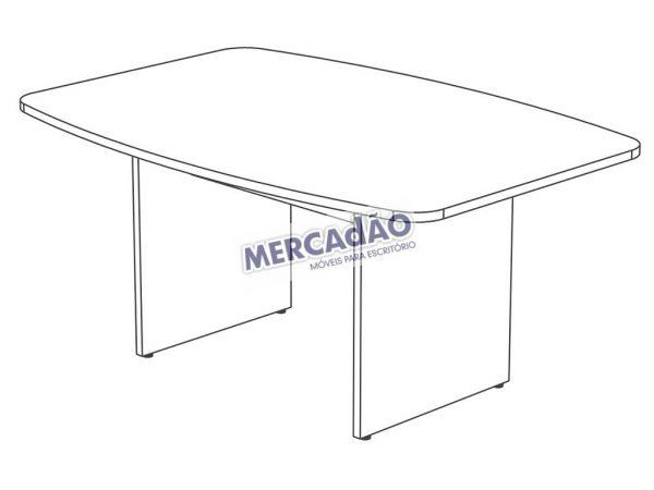 Concept Reuniao Semi-Oval 25668