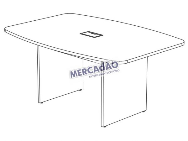 Concept Reuniao Semi-Oval Tomada 25656
